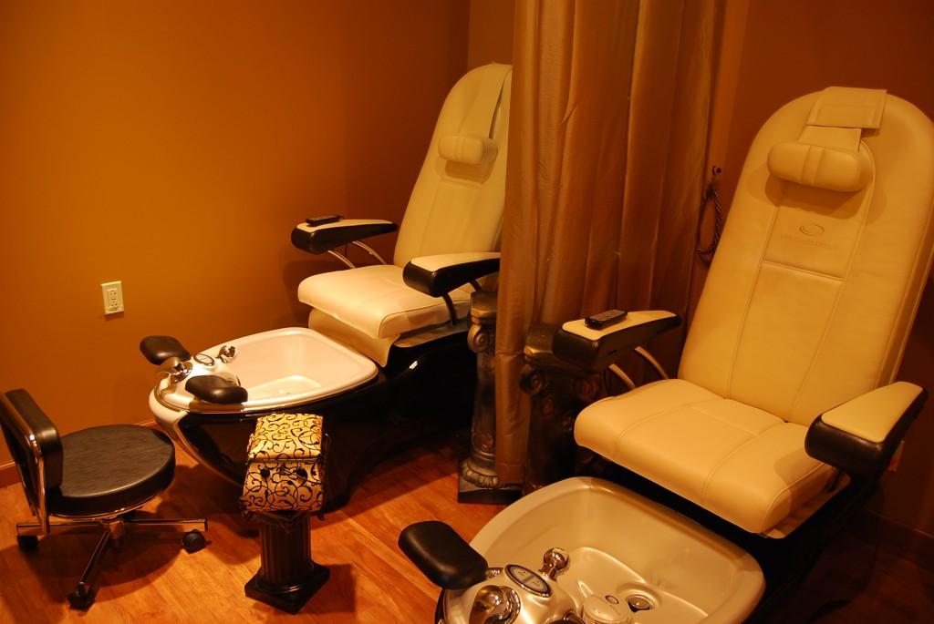 Private Pedicure Room